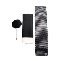 Knitted Tie, Hank And Pin Set