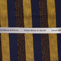 Stripe Woven Silk Hank