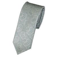 Skinny Paisley Tie