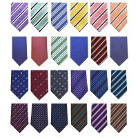 Assorted Polyester Standard width Ties