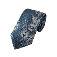 Floral Texture Tie