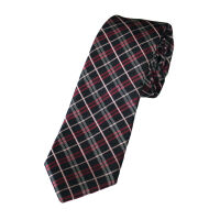 Skinny Check Tie