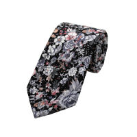 Bold Floral Printed Tie