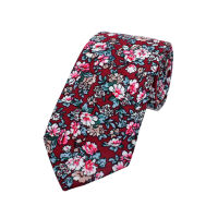 Strong Floral Printed Tie