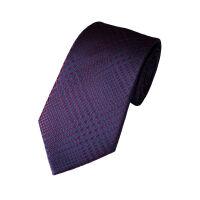 Houndstooth Check Silk Tie