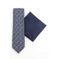 Floral Tie & Hank Set