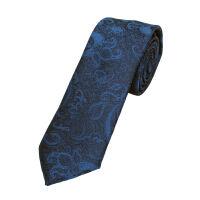 Skinny Paisley Polyester Tie