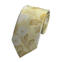 Silkwhite Flowers Tie
