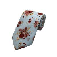 Soft Floral Printed Tie