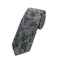Skinny Rose Tie