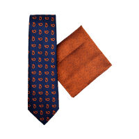 Tie And Hank Set - Paisley