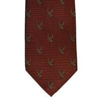 Stag Silk Tie