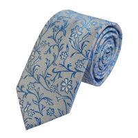 Skinny Floral Tie
