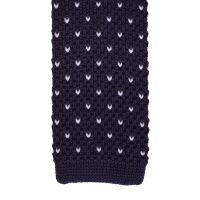 Mini Chevron Knitted Tie