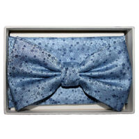Bow Tie And Hank Set - Floral