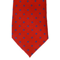Woven Polka Dot Tie