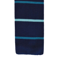Stripe Polyester Knit Tie