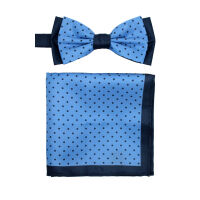 Bow Tie And Hank Set - Spot