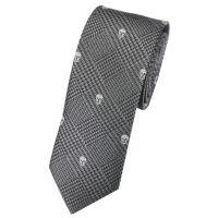 Skinny Skull Tie