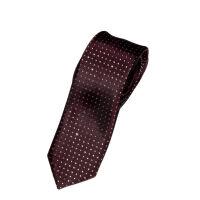 Skinny Glitter Spot Tie