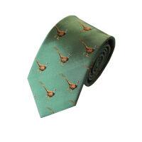 Pheasant Silk Tie