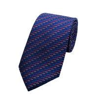 Geo Wave Silk Tie