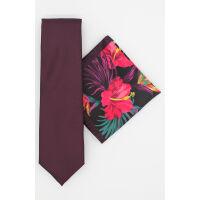 Tropical Tie & Hank Set