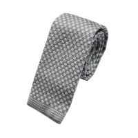 Check Knitted Tie