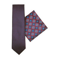 Tie And Hank Set - Medallion