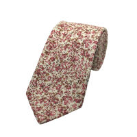 Micro Floral Printed Tie