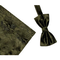Floral Silk Woven Bowset