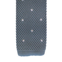 Spot Knitted Tie