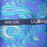 Bright Paisley Silk Hank