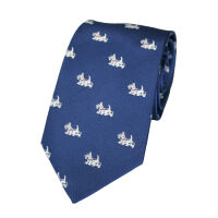 Westie Silk Woven Tie