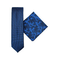Tie And Hank Set - Floral