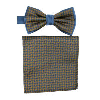 Bow Tie And Hank Set - Dogtooth
