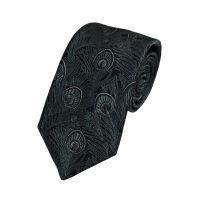 Silk Peacock Tie