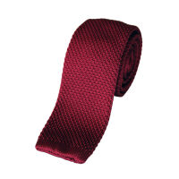 Plain Knitted Tie
