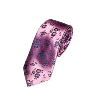 Floral Silk Woven Tie