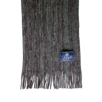 Semi-Plain Knitted Scarf