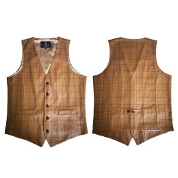 Plaid Waistcoat